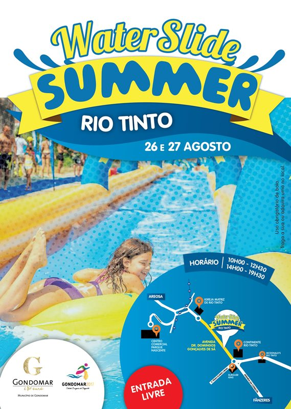 2017 08 28 Water Slide Summer Rio Tinto